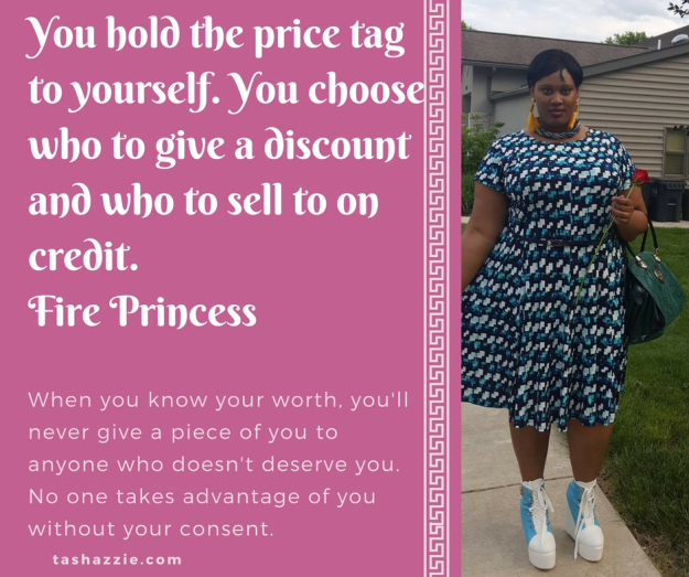 You hold the price tag to yourself. You choose who to give a discount and who to sell to o